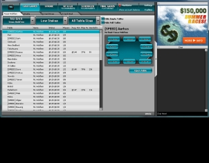 InterPoker Lobby