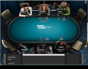 InterPoker Table