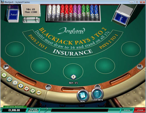 Joyland Casino Blackjack