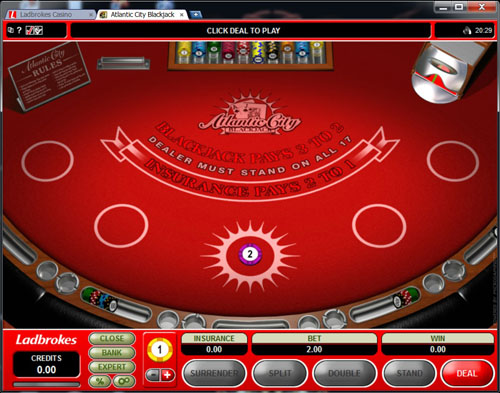 Ladbrokes Casino Blackjack