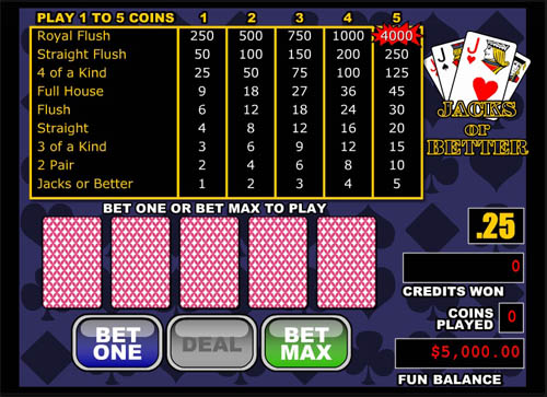 Lock Casino Video Poker
