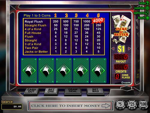 Loco Panda Casino Video Poker