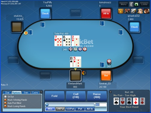Nordic Bet Poker Table
