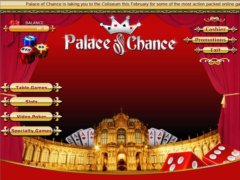 casino palace of chance
