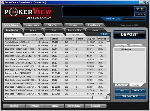 Pokerview bonus code