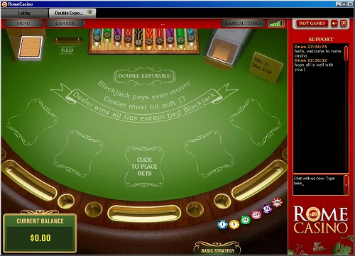 Rome Casino Blackjack