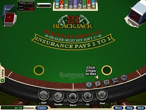 Rushmore Casino Blackjack