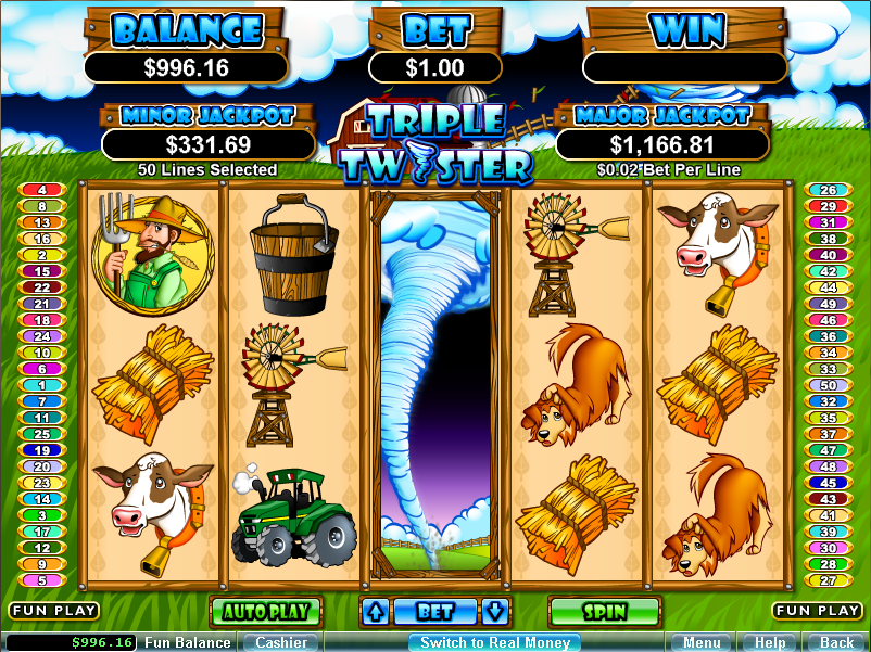 best slots to play at winstar