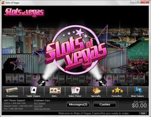 slots of vegas downloads