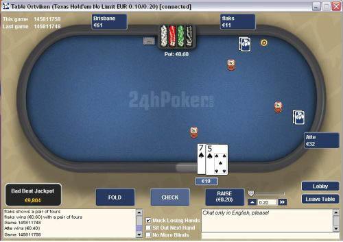 24hPoker Table