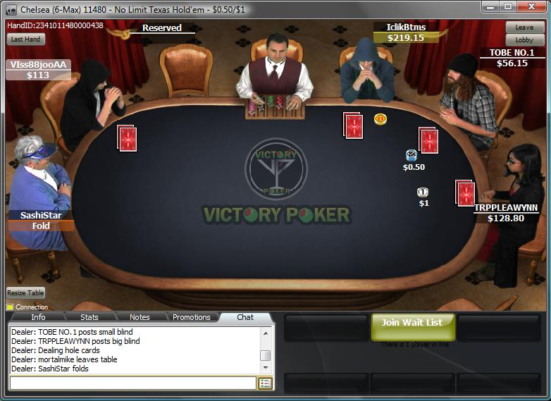Victory Poker Table