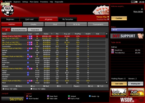 wsop online poker review
