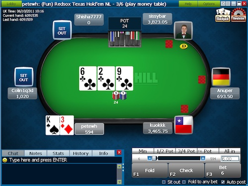 William Hill Poker Стол