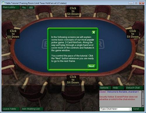 Everest Poker Tutorial