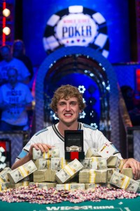 2013 WSOP Main Event Champion Ryan Reiss