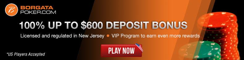 Play Now at Borgata Poker!