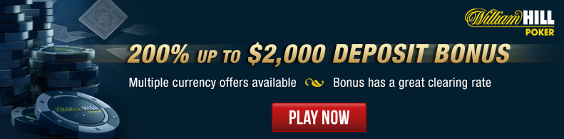 Play Now at William Hill!
