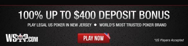Sign up at WSOP.com now!