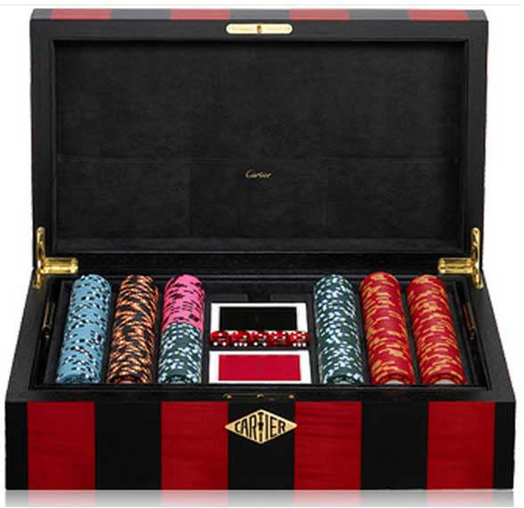 Top 6 most expensive poker set in the world