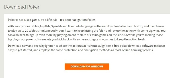 Begin Poker Download