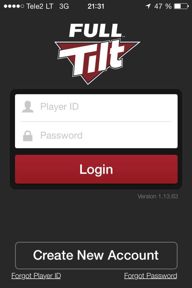 Full Tilt Poker Mobile App Download