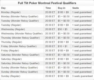 Montreal festival