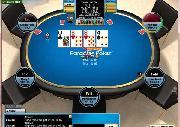 Paradise poker on mac