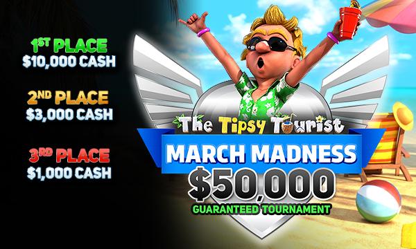 Drake Casino Tipsy Tourist March Madness