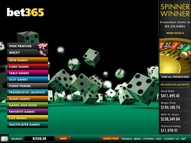 Game 365 casino jackpot casino dublin