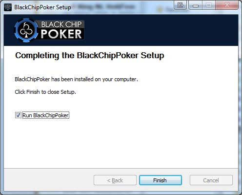 Blackchip Poker: Finished Installing