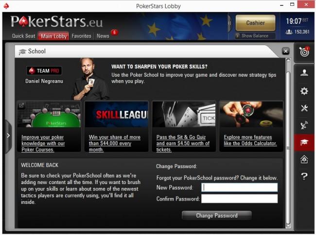 Poker School