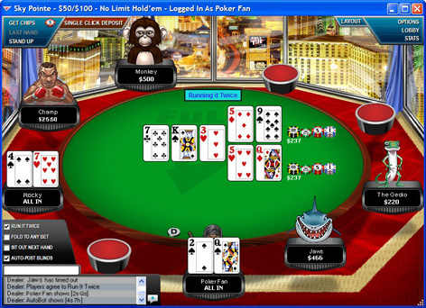 Legal us online texas holdem