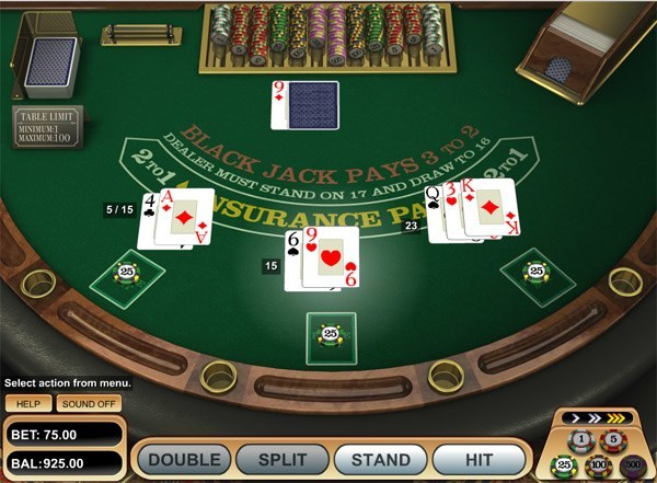 online casino blackjack brook of ra