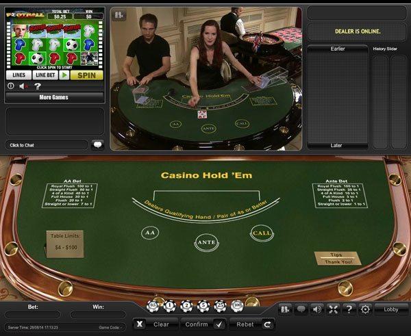 Live Dealer Casino Hold'em