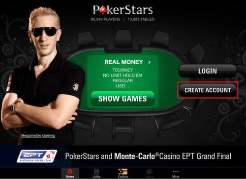 Pokerstars real money apple