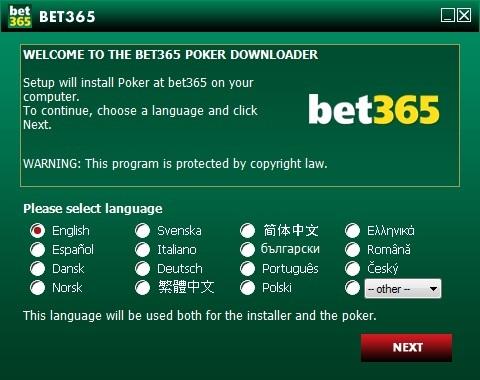 bet365 Poker Install
