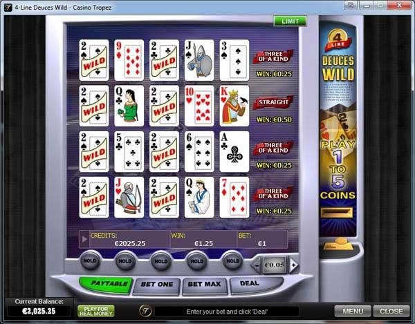 Online Video Poker | $/£/€400 Bonus | Casino.com