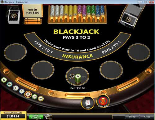UK Blackjack | Up to $/£/€400 Bonus | Casino.com