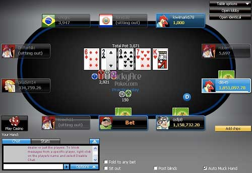 Lucky Ace Poker